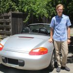 St. Helena teen converts Porsche Boxster to electric vehicle