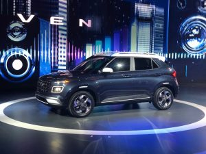 Hyundai Venue SUV with Nexen Tire