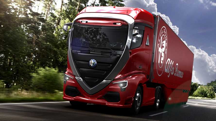 This Bugatti Hyper Truck Concept Is The Fastest Fictional Semi
