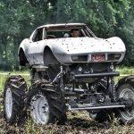 Ford V8-Powered Corvette Monster Truck Breaks Every Rule