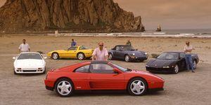Tested: 1997 Dodge Viper GTS vs. Porsche 911 Turbo S vs. Acura NSX-T