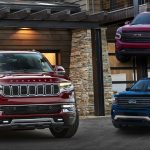 The 2022 Jeep Wagoneer Compared to the Ford Expedition and Chevrolet Tahoe