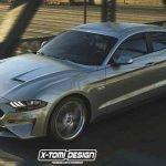 Ford Mustang 4 Door Sedan